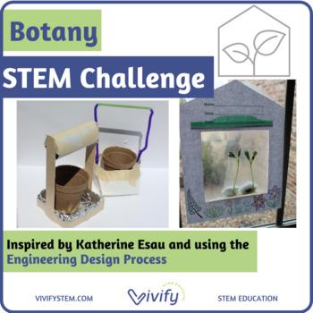 Botany STEM Challenge - STEM Plant Anatomy and Engineering Activity