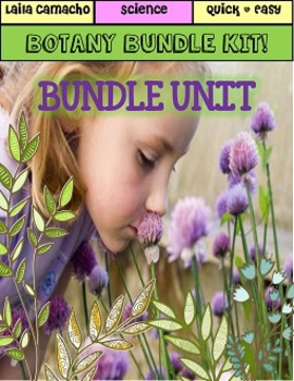 Plants BUNDLE (Botany)