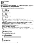 Botany for Horticulture Quiz 3
