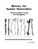 Examining Winter Twigs - Botany for Jr. Naturalists
