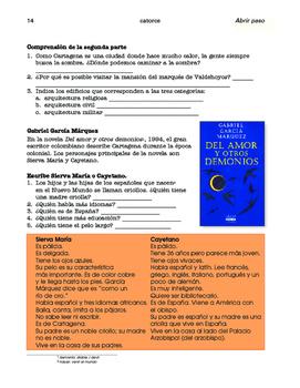 Fernando Botero / Cartagena de Indias; 2 thematic units - SP Intermediate 1