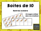 Boîtes de 10 de la rentrée scolaire! [Back to school] [10]