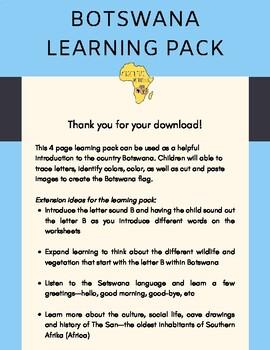 Botswana Learning Pack