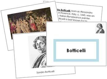 Botticelli (Sandro) Art Book - Color Border