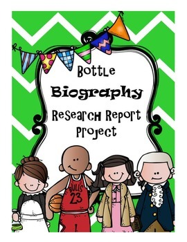 Bottle Biography Research Project