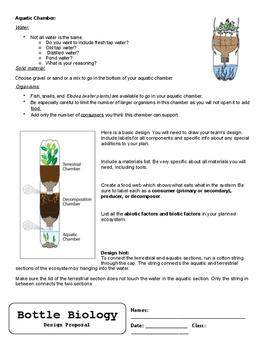 Bottle Biology Project