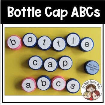 Bottle Cap ABCs (Upper Case Letters)