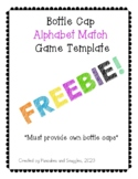 Bottle Cap Alphabet Match Game