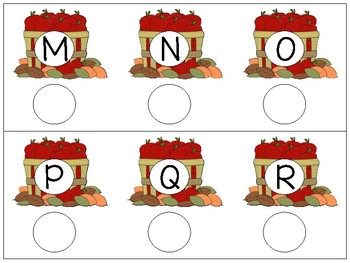 Bottle Cap Fun (Letter Match)