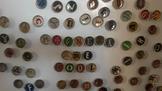 Bottle Cap Magnets - Vintage theme