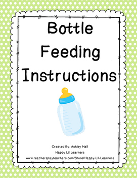 Bottle Feeding Instructions