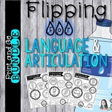 Bottle Flipping Challenge Bundle for Language & Articulation