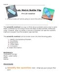 Bottle Flipping Lab: Metric Measurement To Flip A Bottle