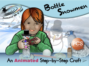 Bottle Snowmen - Animated Step-by-Step Craft PCS