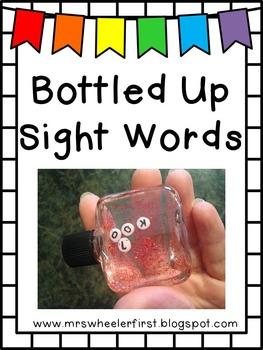 First Grade Sight Words: Word Scramble Activity