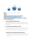 Bottled Water Internet Activity-Homework/Classwork