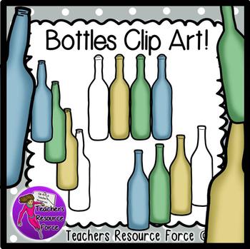 Bottles clip art