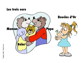 Boucles d'Or Storytelling Unit (Goldilocks and the Three Bears)