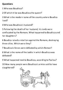Boudicca  Handout