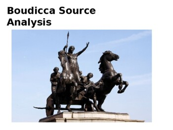 Boudicca Source Analysis Activity
