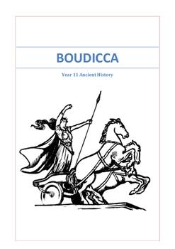 Boudicca Student Booklet