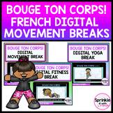Bouge ton corps! French Digital Movement Break Bundle
