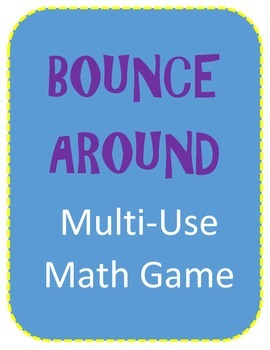 Bounce Around Multi-Skill Math Game