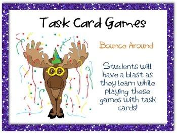 Bounce Around Task Card Game