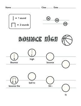 Bounce, Bluebells & Little Sally Water