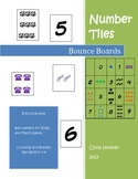 Bounce Boards for Counting and Number Recognition