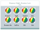Bounce High, Bounce Low Powerpoint with steady beats, solf