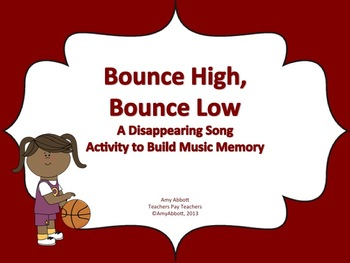 Bounce High, Bounce Low: a Music Memory Game