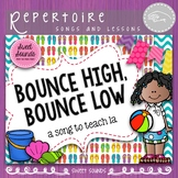 Bounce High Prepare and Present La - Melody Activities