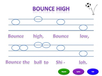 Bounce High (msl) - Notation Pack