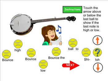Bounce High or Low Game