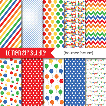 Bounce House-Digital Paper (LES.DP62A)