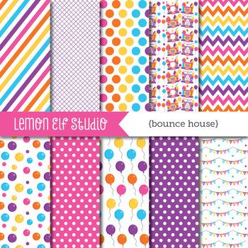 Bounce House-Digital Paper (LES.DP62B)