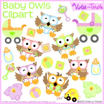 Baby Owl Clipart Bouncing Babies Clipart Clip Art