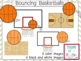 Bouncing Basketball Clip Art