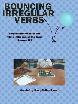 Bouncing Irregular Verbs