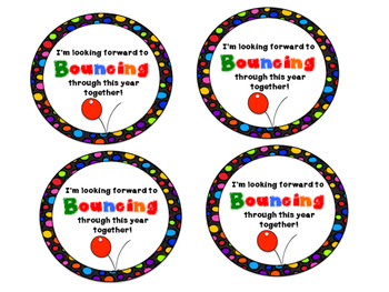 Bouncing Together Tags FREEBIE!!