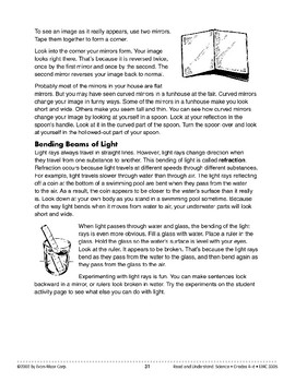 Bouncing and Bending Beams of Light (Physical Science/Light)