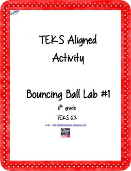 Scientific Method Bouncy Ball Lab