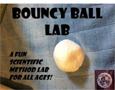 Bouncy Ball Scientific Method Lab