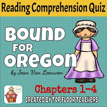 Bound for Oregon Quiz Chapters 1-4 FREEBIE