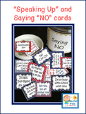 Boundary Setting: Saying NO Politely Scripted Cards for Self Esteem Groups; BLUE