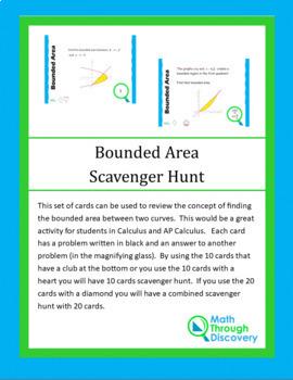 Bounded Area Scavenger Hunt