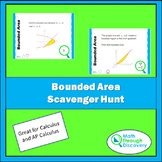 Calculus - Bounded Area Scavenger Hunt