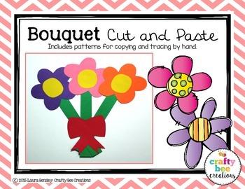 Bouquet Cut and Paste