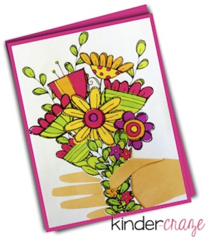 Bouquet of Flowers Class Card